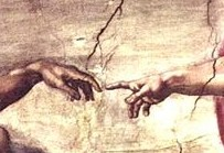 Michelangelo_Touching_Hands