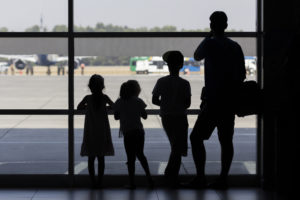 Repatriation with children